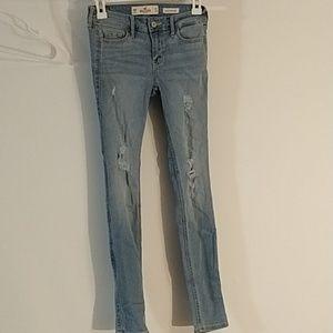 Hollister jeans- waist 23 length 30 (0130)